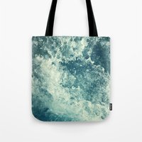 photograph Tote Bags featuring Water I by Dr. Lukas Brezak