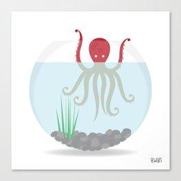Release the Kraken! Canvas Print