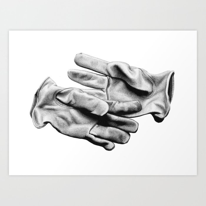 Workman's Gloves Art Print