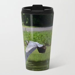 Herron in Flight Travel Mug