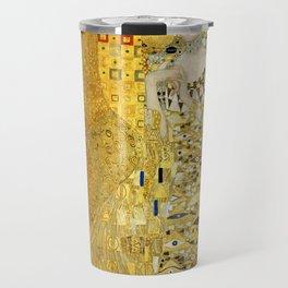 """Gustav Klimt """"Portrait of Adela Bloch-Bauer I"""" Travel Mug"""
