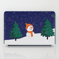 snowman iPad Cases featuring Snowman ... by Mr and Mrs Quirynen