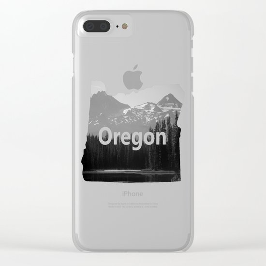 Lake Mist Clear iPhone Case