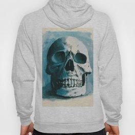 Skin E. Bones in Blue Hoody