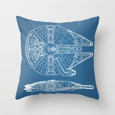 Millennium II Throw Pillow