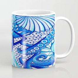 Blue Sploodge  Coffee Mug