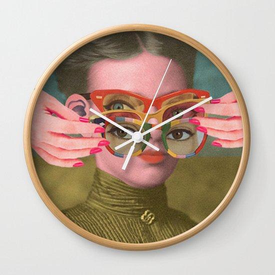 TRIFOCALS Wall Clock