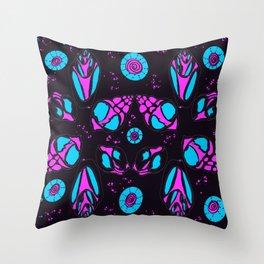 Purple shells Throw Pillow