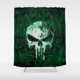 Skull Raider Shower Curtain