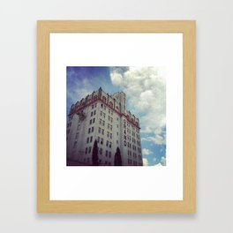 Hotel Grand Framed Art Print