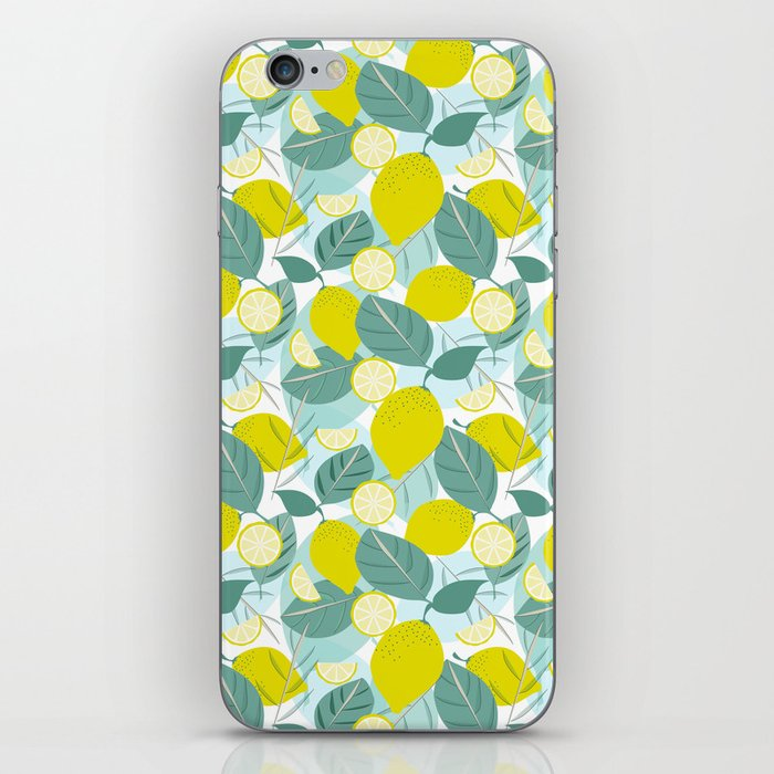 Lemons and Slices iPhone Skin