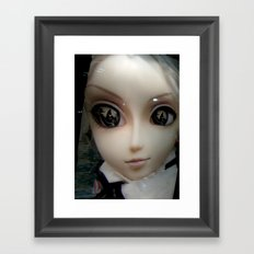 Facelift Framed Art Print