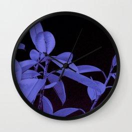 Rubber plant II Wall Clock