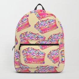 Birthday Cake - Yellow BG Backpack