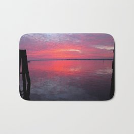 Caloosahatchee Sunset Bath Mat