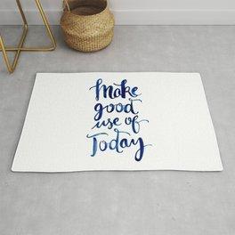 Make Good Use of Today Rug