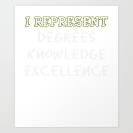 Empowerment Excellence Tshirt Design Empowering Art Print