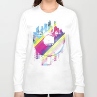 deadmau5 Long Sleeve T-shirts featuring Urban Vinyl V2 by Sitchko Igor