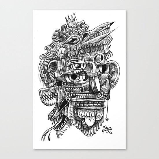 Fright 3 Canvas Print
