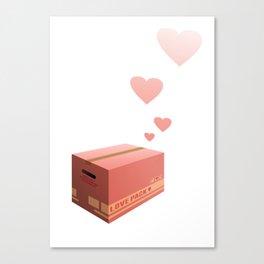 Love Box Canvas Print