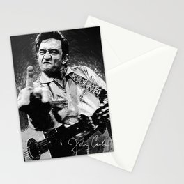 Johnny Cash Stationery Cards