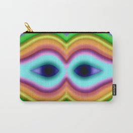 Softly rainbow mask Carry-All Pouch