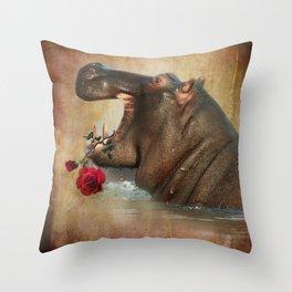 Feeling Strong Throw Pillow