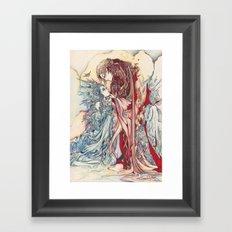 My dear, don't be afraid of me Framed Art Print