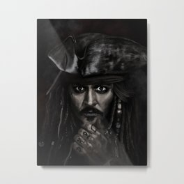 He's a Pirate Metal Print