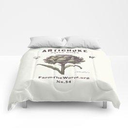 Farm the World Artichoke Seed Packet Comforters