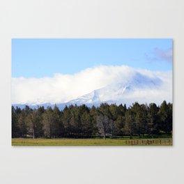Low Clouds Canvas Print