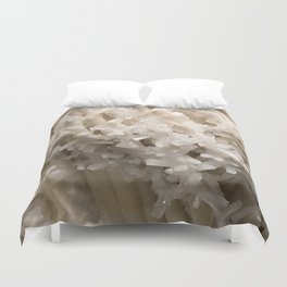 Celesite with Aragonite Duvet Cover