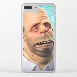 Homer Simpson Clear iPhone Case