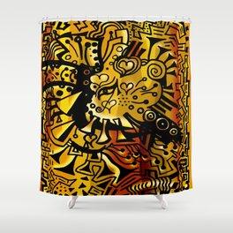 Pharaohs Glyph Shower Curtain