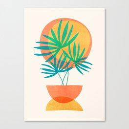 Summer Eclipse Canvas Print