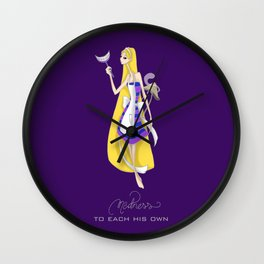 Mad Alice: To Each his Own Wall Clock