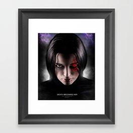 Death Becomes Her Framed Art Print