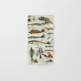 Fishing Lures Hand & Bath Towel