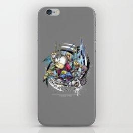 design monkey iPhone Skin
