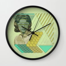 trying to hide behind regularity Wall Clock