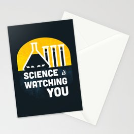 Science is Watching You Stationery Cards