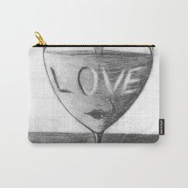 Glass of love Carry-All Pouch