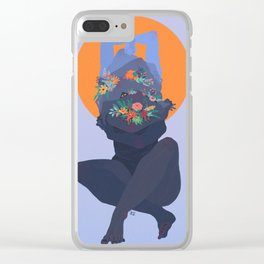 Anhedonia Clear iPhone Case