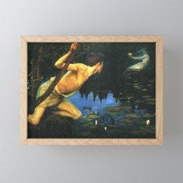 Siren by Albert Edelfelt Framed Mini Art Print