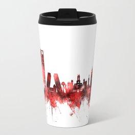 Madrid Spain Skyline Travel Mug