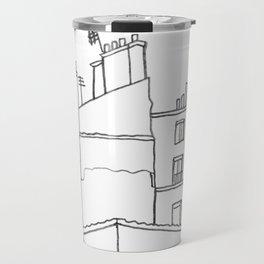 Paris Poetic Buildings Travel Mug