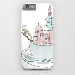 Cairo, Coffee, Birdhouse iPhone Case