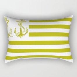 Anchor Nation Dark Rectangular Pillow