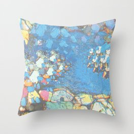 Electric Phase Throw Pillow