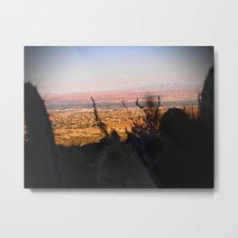 Balloons in the Southwest Metal Print